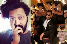 Riteish Deshmukh, Ajay Devgn Can't Stop Roasting Each Other On Twitter And It's Hilarious