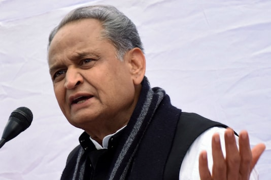 File photo of Rajasthan Chief Minister Ashok Gehlot.