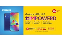 Samsung Galaxy M10, M20 Owners to Get Exclusive Offers From Reliance Jio