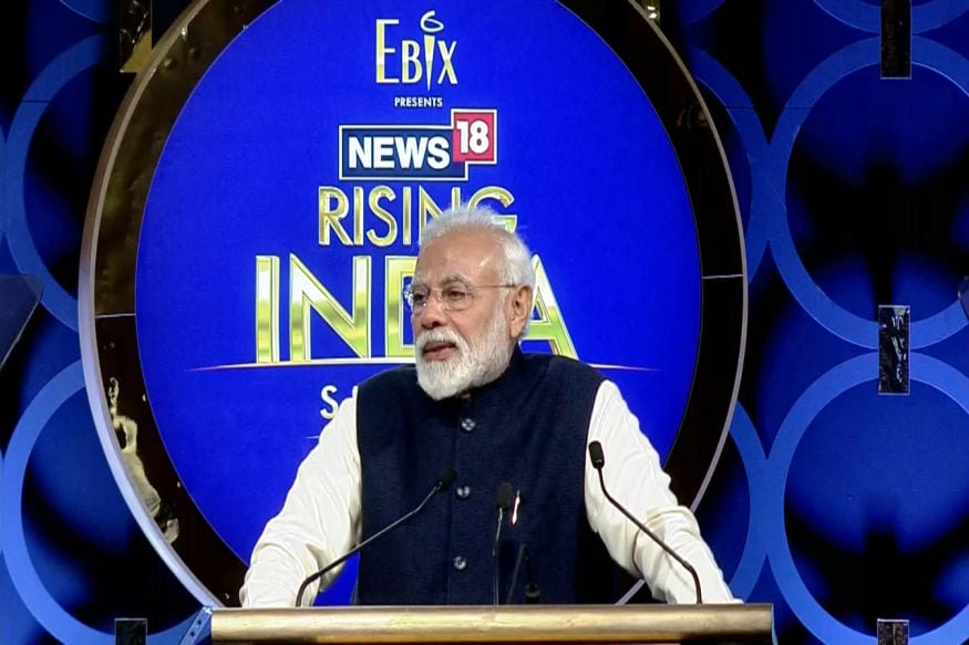 Rising India 2019 LIVE: PM Modi Says High FDI Proves Job Creation