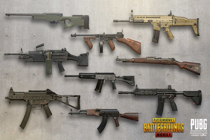 PUBG Mobile: Here Are Our Top 10 Guns From The Battle Royale