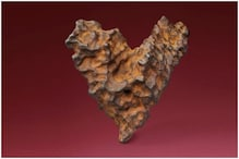$500,000 Can Get Your Valentine a 300 Million-Years-Old Heart-Shaped Meteorite