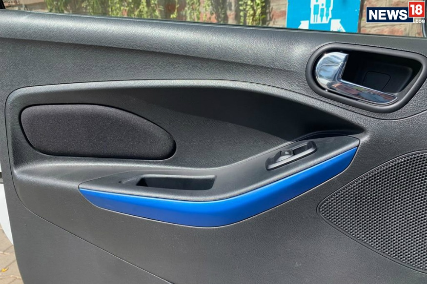 2019 Ford Figo facelift gets changes to the interior as well. (Image: Abhinav Jakhar/News18.com)