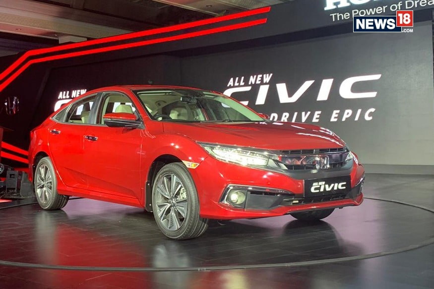Honda Civic New >> All New Honda Civic Launched In India For Rs 17 70 Lakh Receives