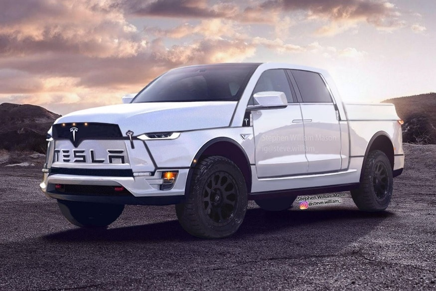 Tesla Model Y Compact SUV Based Upcoming Pickup Truck