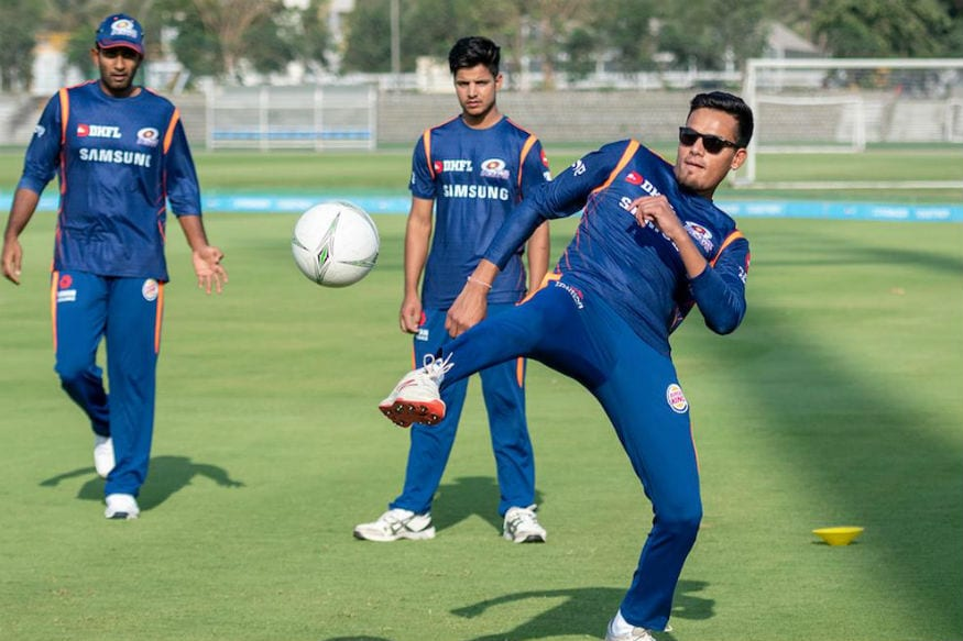 In Pics | Mumbai Indians Train Ahead of IPL 2019 Season Opener