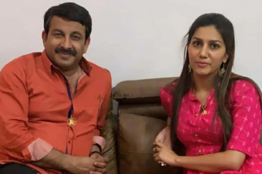 Photo of Sapna Choudhary With BJP's Manoj Tiwari Surfaces Day After She Denied Joining Congress