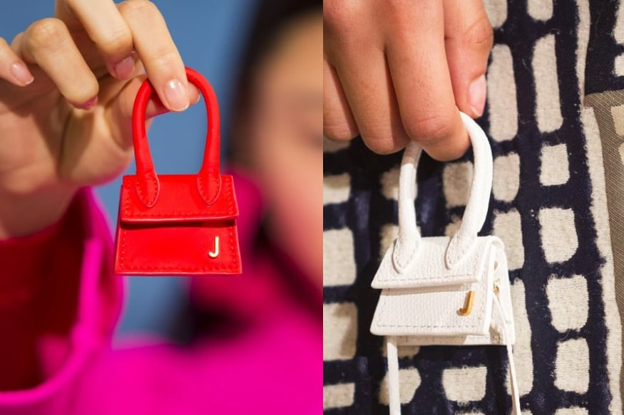 Image result for These Teeny-Tiny Jacquemus Bags at Paris Fashion Week are Huge on Memes
