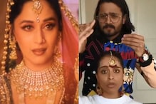 'Devdas 2?' Madhuri Dixit Responds to Lilly Singh Copying Her 'Eyebrow Raising' Moves