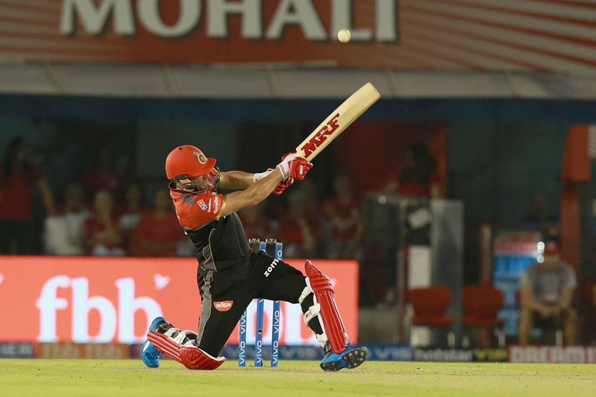 AB de Villiers plays a shot. (IPL T20)
