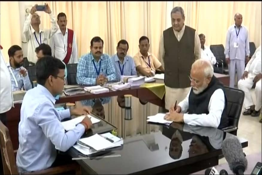Elections 2019: PM Modi Files Nomination from Varanasi, Allies Gather for Show of Strength