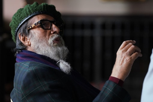 Mr. Bachchan took to his social media to reveal his unique avatar from his upcoming film 'Chehre'.