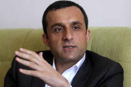 File photo of Amrullah Saleh. (Reuters image)
