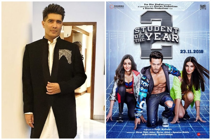 Student of The Year 2: Manish Malhotra Styles & Designs for Batch of 2019