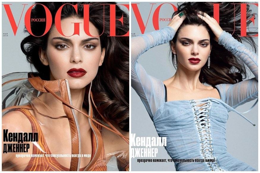 Kendall Jenner Makes a Stunning Debut on Vogue Russia Cover, See Pics