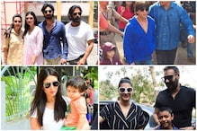 From Ahan to AbRam & Taimur, Bollywood Star Kids Draw Attention in Lok Sabha Elections 2019
