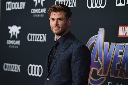 Chris Hemsworth arrives at the premiere of 'Avengers: Endgame' at the Los Angeles Convention Center in Los Angeles. (Image: AP)