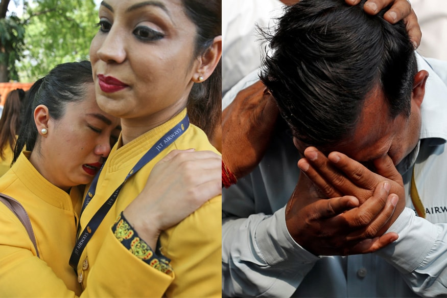 Jet Airways Grounded: Teary-Eyed Employees Plea For Its Revival