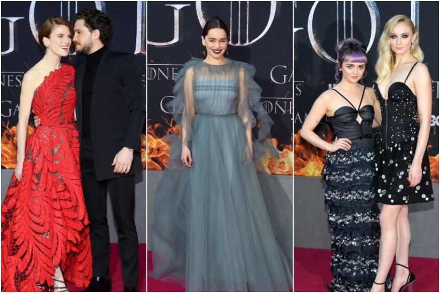 Souvenirs and Secrets Unveiled as 'Game of Thrones' Cast Walk Last Red Carpet Together