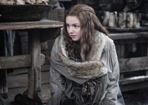 Hannah Murray in a still from Game of Thrones