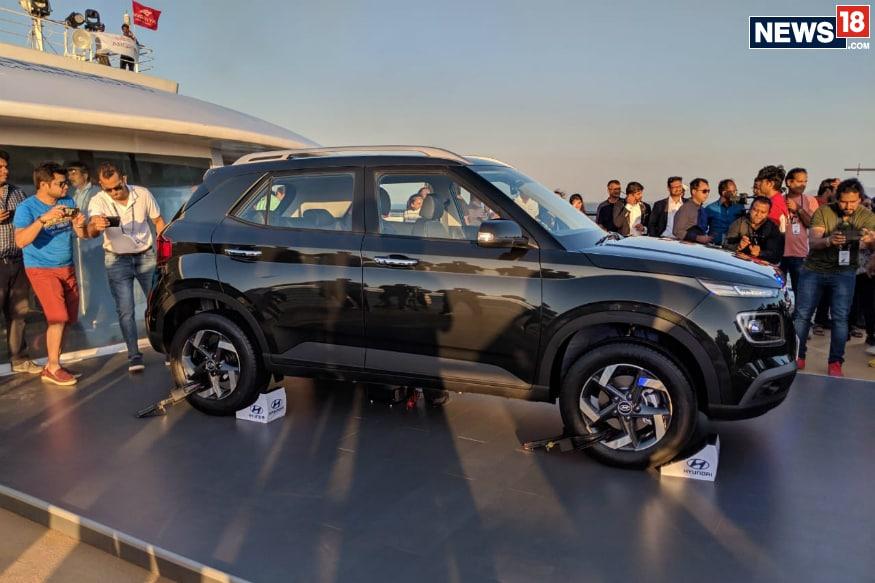 Hyundai Venue. (Image: News18.com/Manav Sinha)