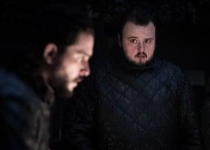 Kit Harington & John Bradley in a still from Game Of Thrones S08E02