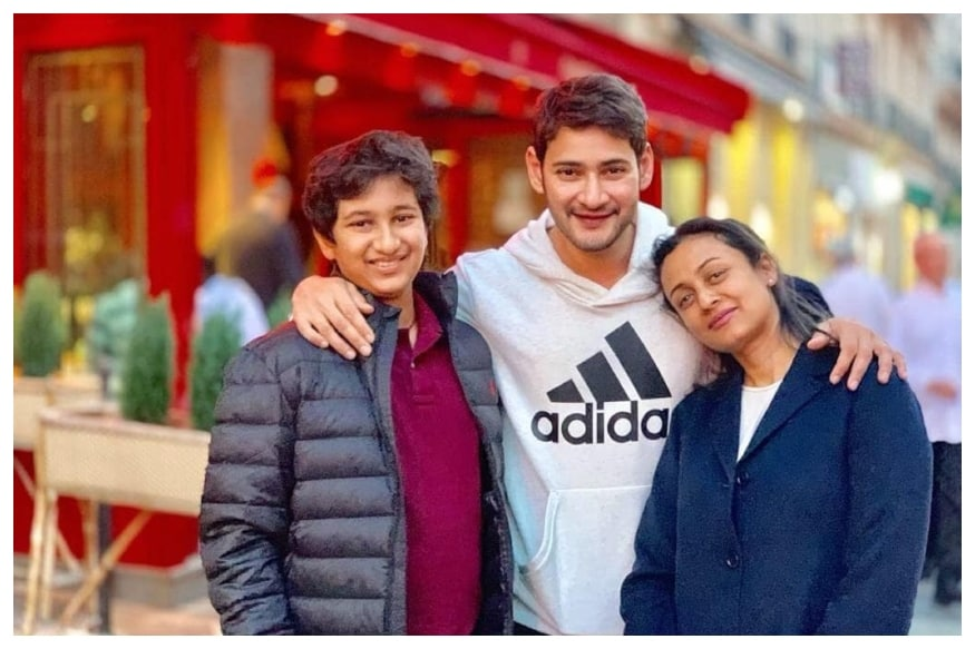 Mahesh Babu Spends an Evening in Paris with Family After
