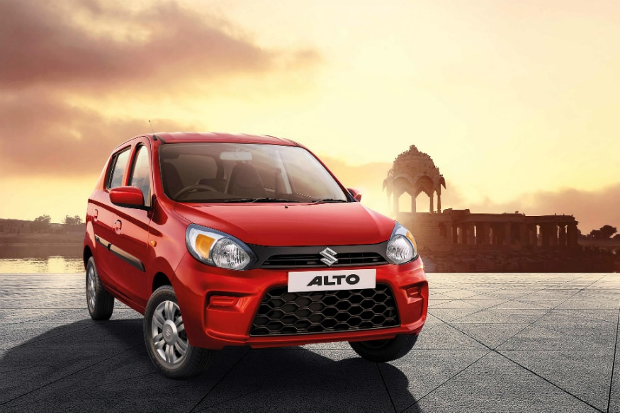new maruti suzuki alto 800 with bs vi engine launched in. Black Bedroom Furniture Sets. Home Design Ideas