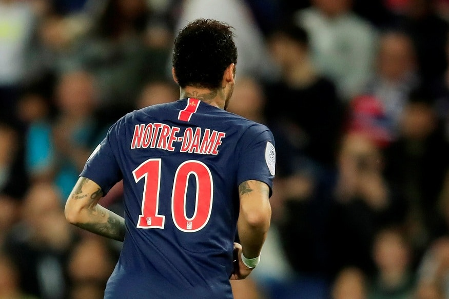 finest selection 31c3e fe88a Paris Saint-Germain and AS Monaco Pay Tribute to Notre-Dame ...