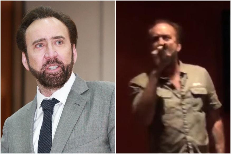 Amidst Divorce Nicolas Cage Breaks into 'Emotional Karaoke Cover of Princes Purple