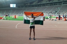 PU Chitra Gets Third Gold For India in Asian Athletics Championships