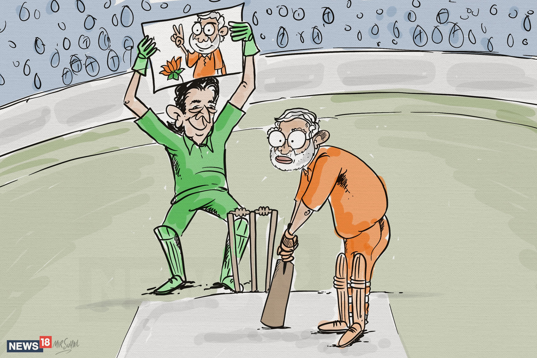 Pak-Allied-With-Modi-Cartoon
