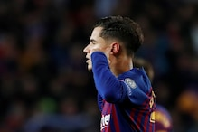 Philippe Coutinho Gestures Towards Barcelona Fans After Stunning Goal vs Manchester United
