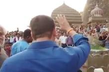 Salman Khan Shoots For Hud Hud Dabangg Song in Maheshwar; See Pics