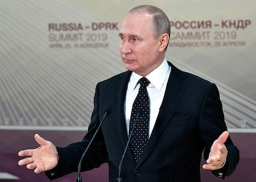 File photo of Russian President Vladimir Putin.(Image: AP)