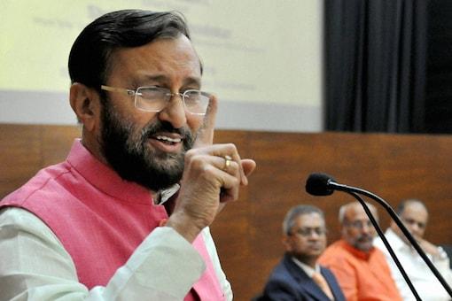 File photo of Union minister Prakash Javadekar.