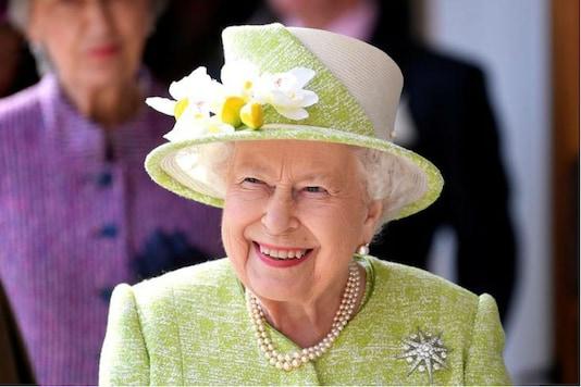 File photo of Queen Elizabeth II. (Reuters)