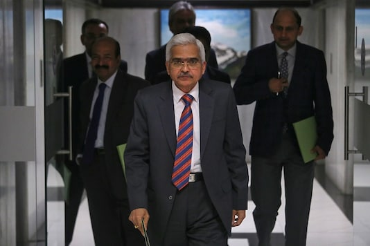 File photo of RBI Governor Shaktikanta Das at the monetary policy review in meet in Mumbai. (Photo Credit: PTI)