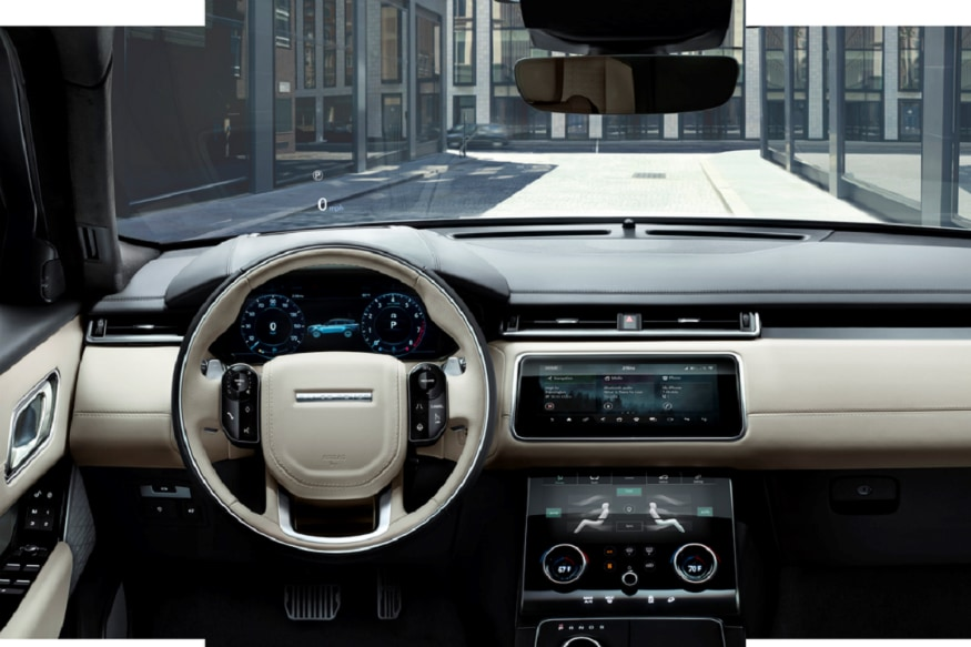 Interiors of the Range Rover Velar. (Image: Land Rover)