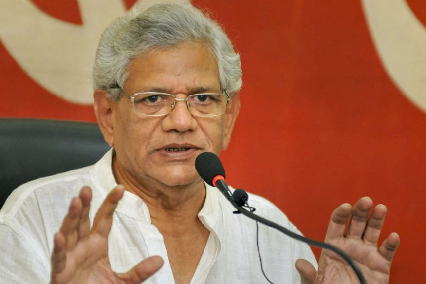 CPI(M) Keen to Send Sitaram Yechury to Rajya Sabha from West
