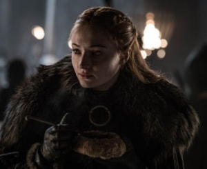 Sophie Turner in a still from Game of Thrones