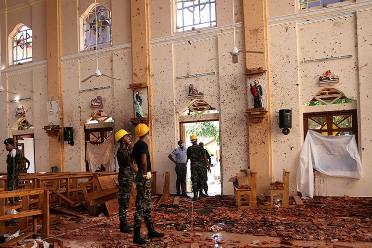 Sri-Lanka-Blasts-Photos-Show-Broken-Idols,-Blood-Stains-&-Collapsed-Ceilings-(18)