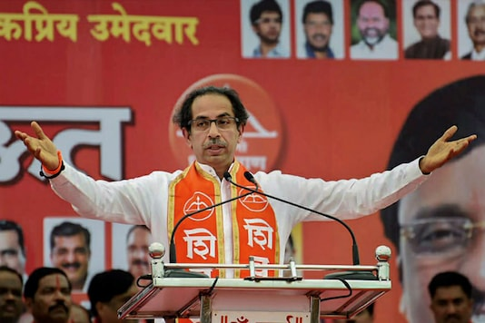 File photo of Shiv Sena chief Uddhav Thackeray. (PTI Photo)