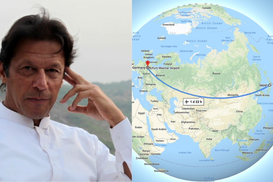 Pakistan Prime Minister Imran Khan Believes Japan and Germany Share a Border. Erm...