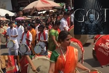 Gudi Padwa Celebrated with 'Game of Thrones' Theme Song in Mumbai Streets