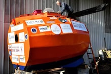 High Spirits: This 72-Year-Old is Floating Across the Ocean in a Custom-Made Barrel