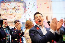 A Comedian Played Ukraine's President. Now He Won the Presidential Election, For Real.