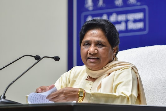 File photo of BSP supremo Mayawati. (PTI)