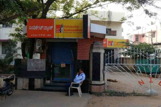 File photo of Syndicate Bank ATM.