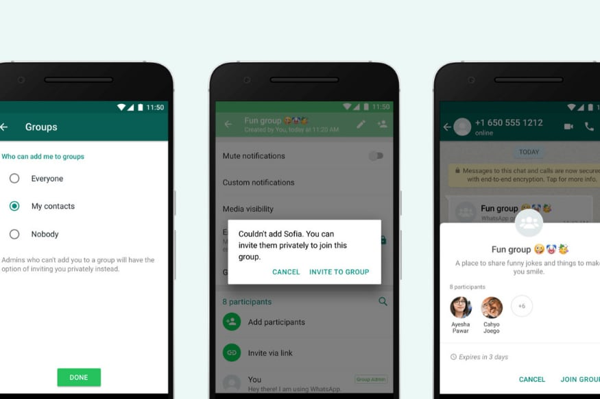 Whatsapp Group Invitation Links Indexed By Google May Leave No Room For Privacy